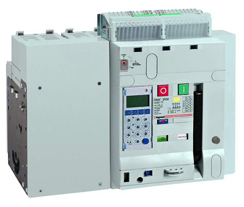 DMX³ air circuit breakers 2500 - 100 kA 4P 2500A
