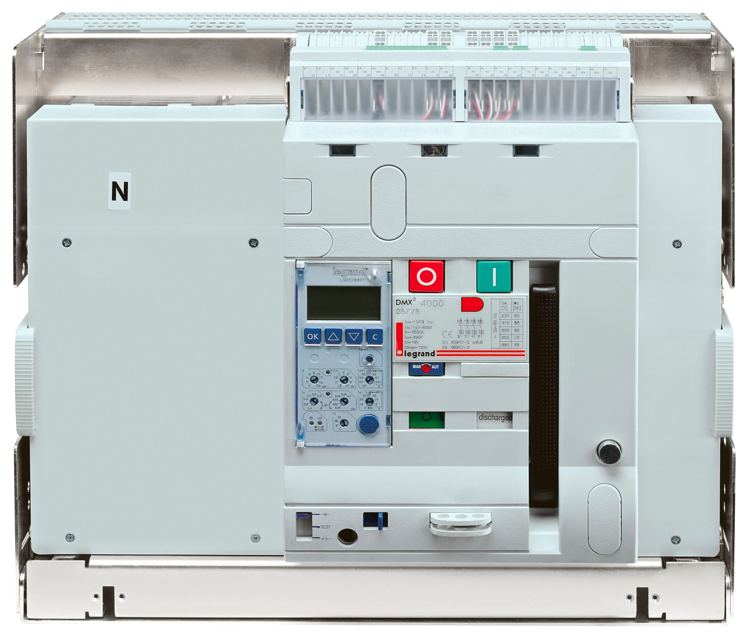 DMX³ air circuit breakers 4000 - 100 kA 4P 4000A