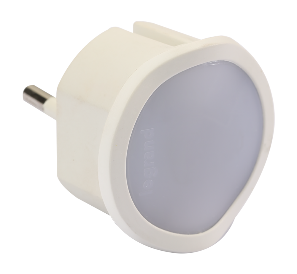 Dimmable night lamp - high luminosity LED - auto/manual modules - white