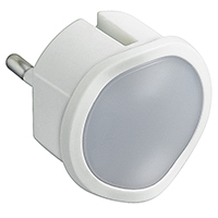 Spotlight with battery - 2 high luminosity LED - min. life 1.5 hours - white
