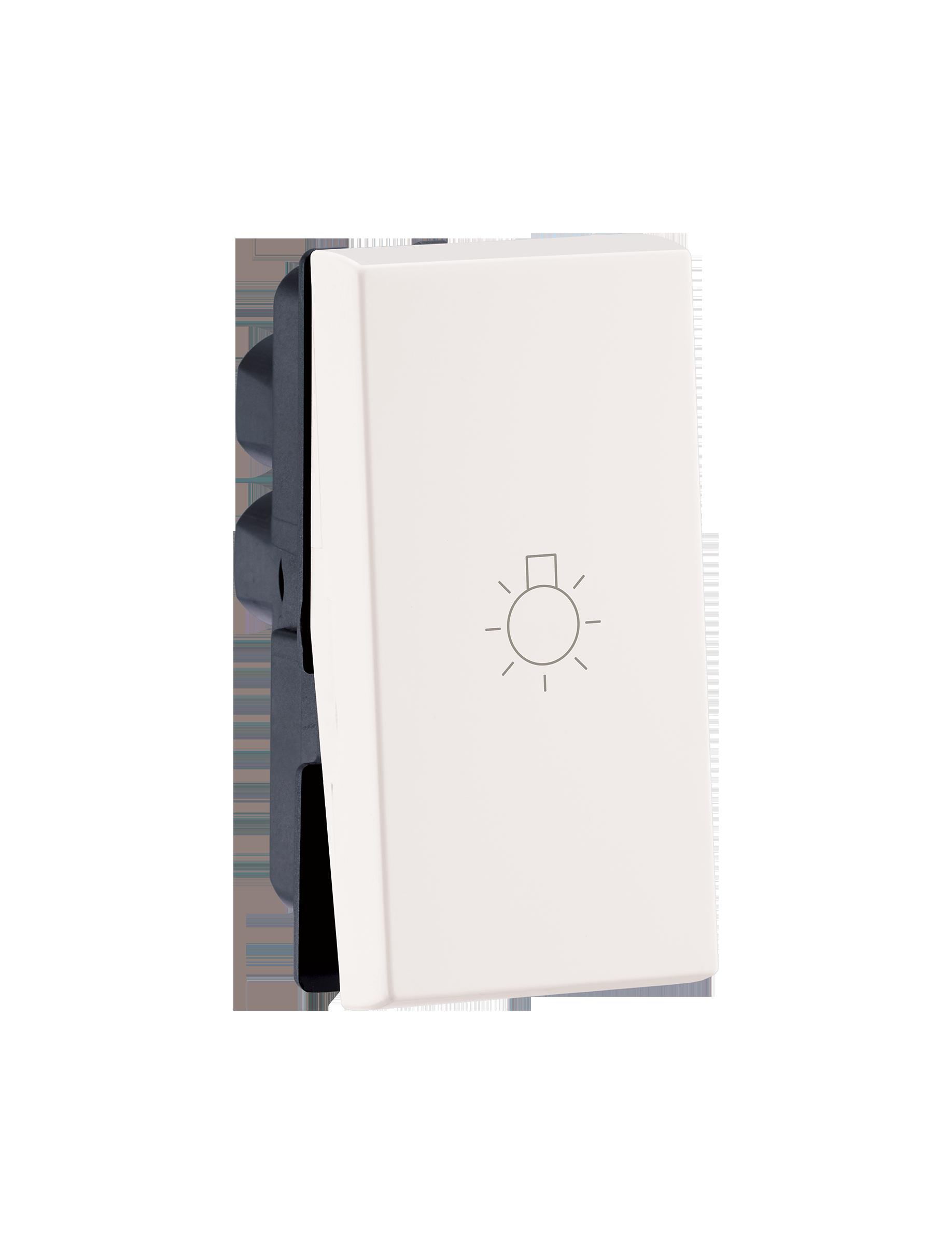 Myrius Nextgen 6A Switch 1 Way 1M Light Marking White