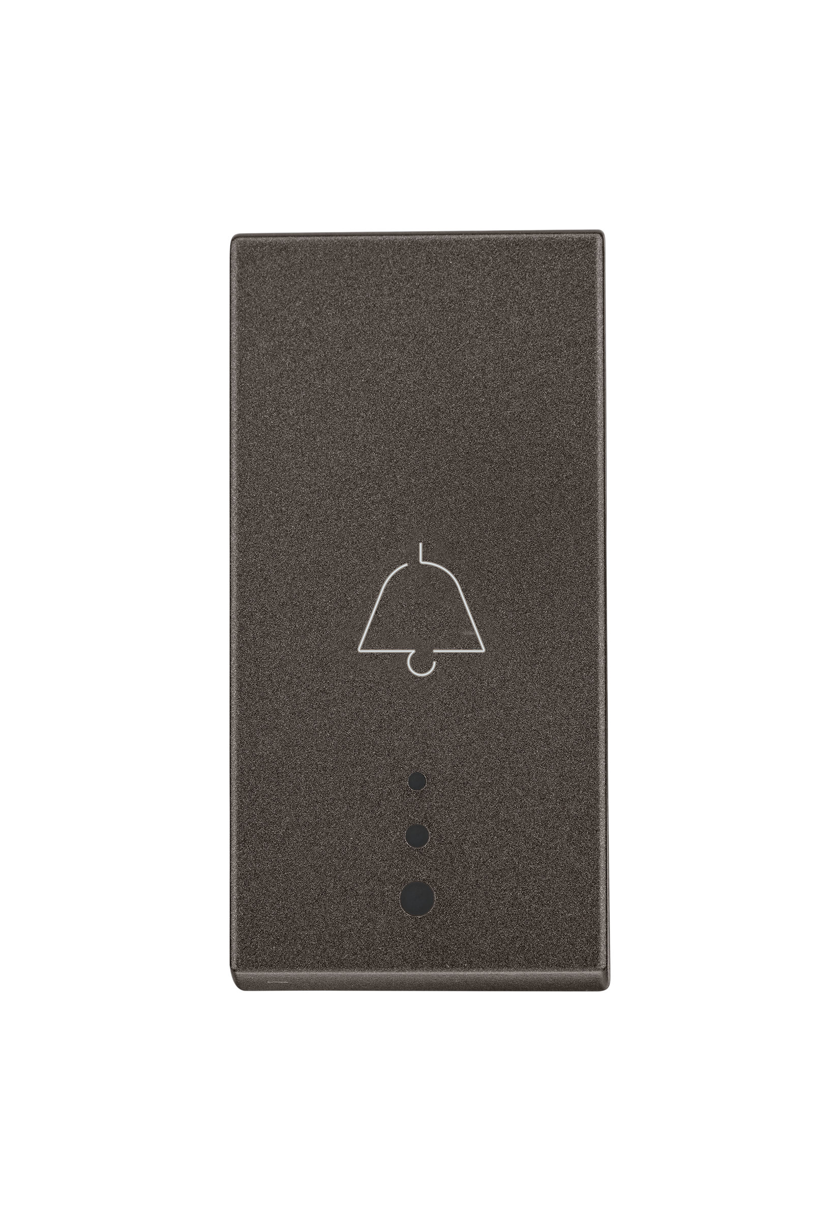 Myrius Nextgen 6A Bell Push1 Way 1M With Indicator Charcoal Grey