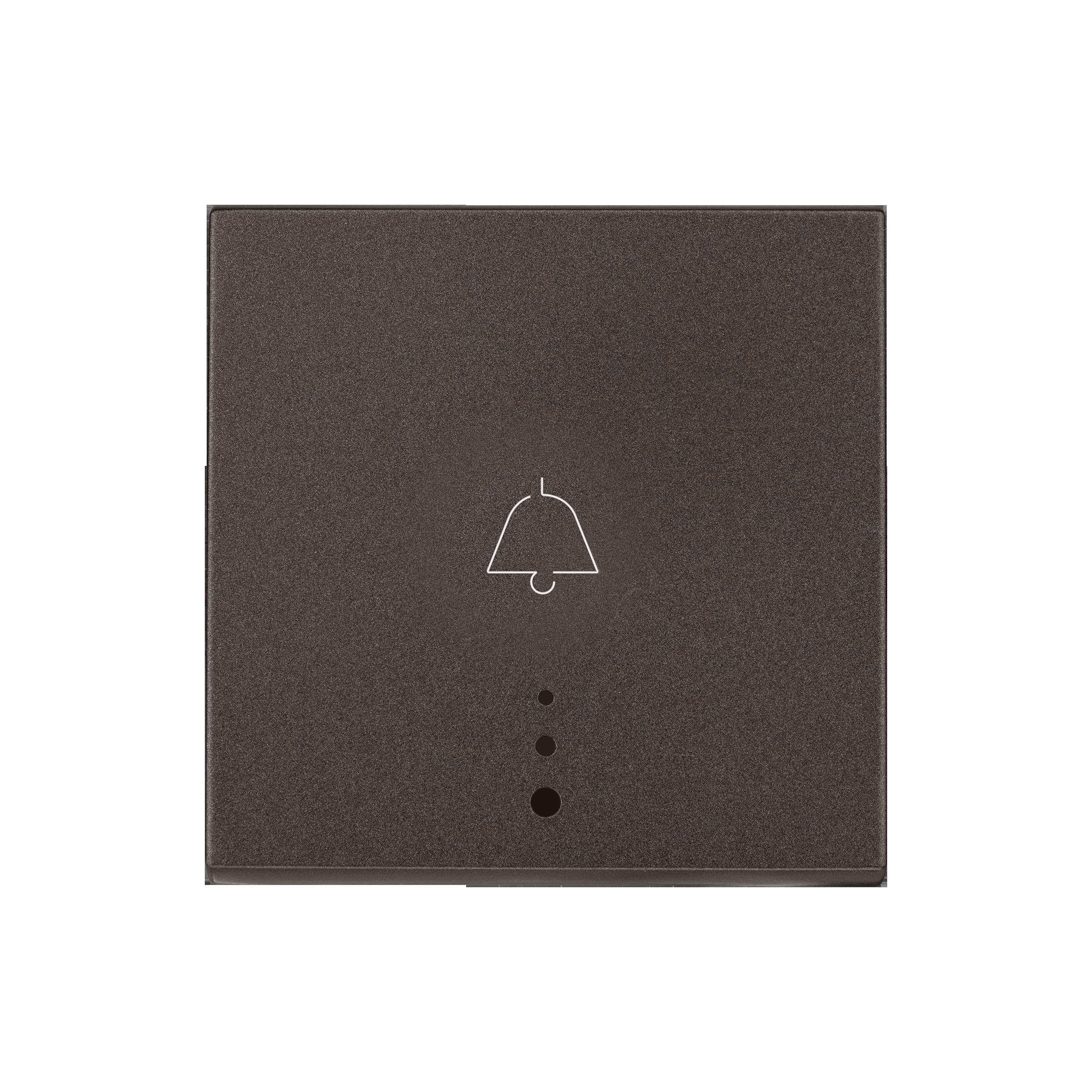 Myrius Nextgen 6A Bell Push1 Way 2M With Indicator Charcoal Grey