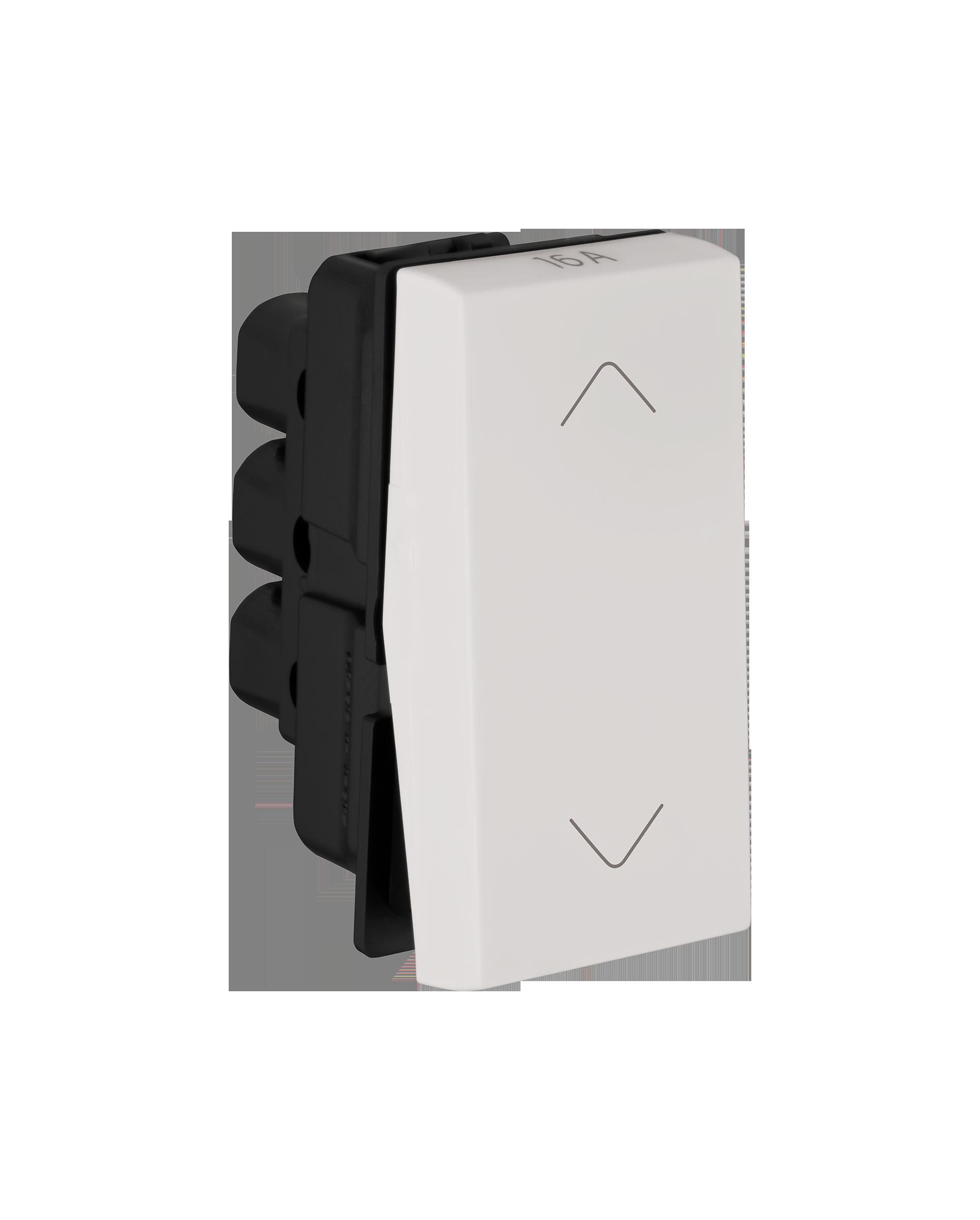 Myrius Nextgen 16A Switch 2 Way 1M White