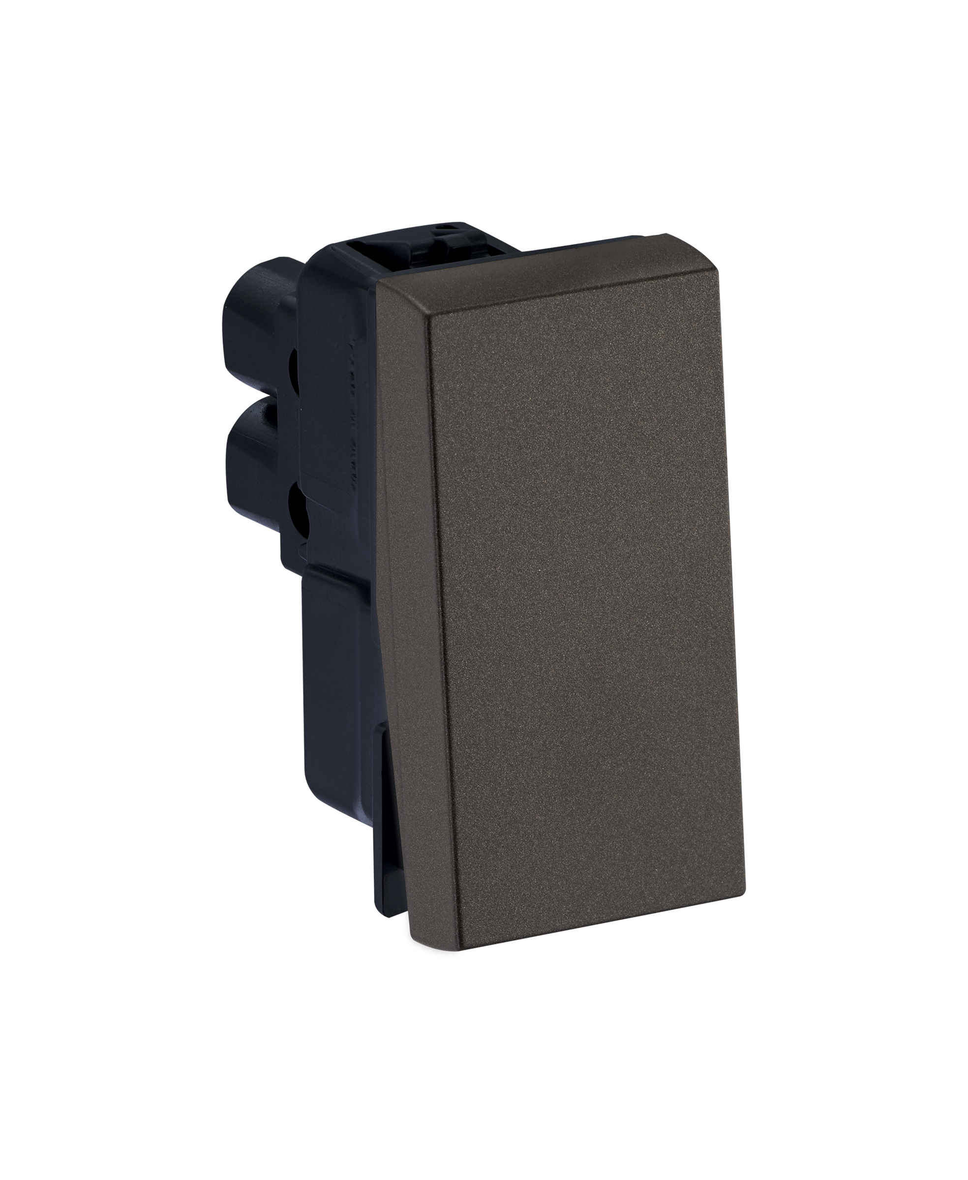 Myrius Nextgen 6A Push Button Sp 1 Way 1M Charcoal Grey