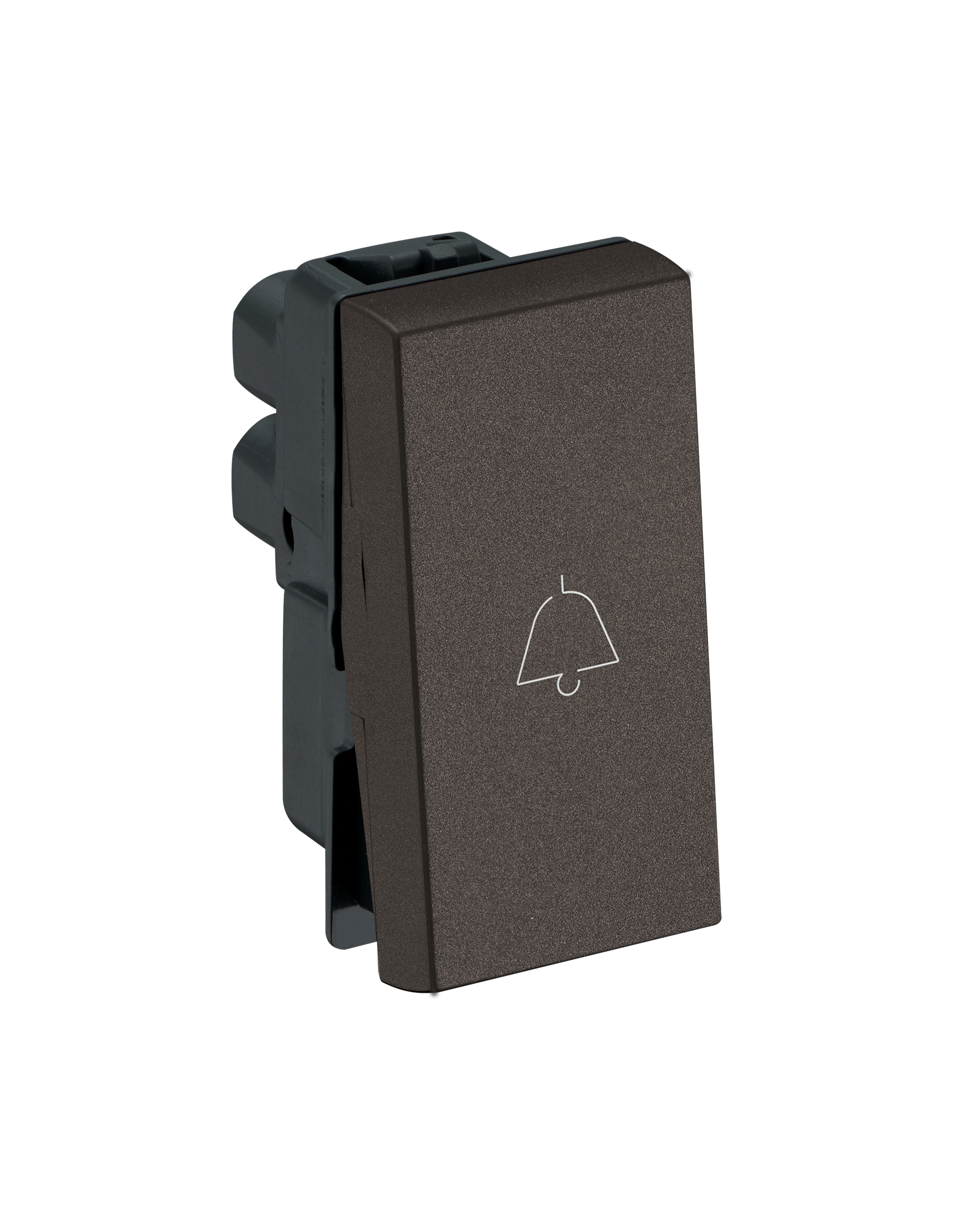 Myrius Nextgen 6A Bell Push 1 Way 1M Charcoal Grey