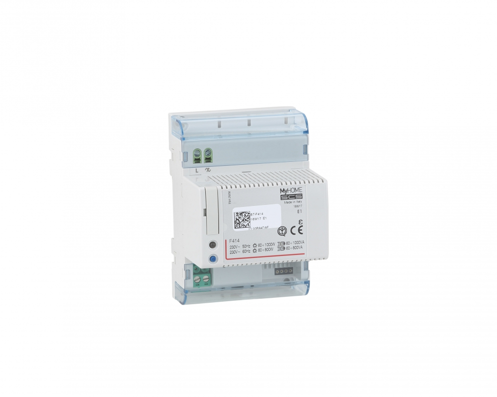 Arteor BUS/SCS - DIN controller - For incandescent, halogen and ferromagnetic loads